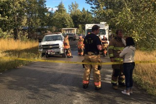 Authorities say 5 children die in Alaska trailer-home fire